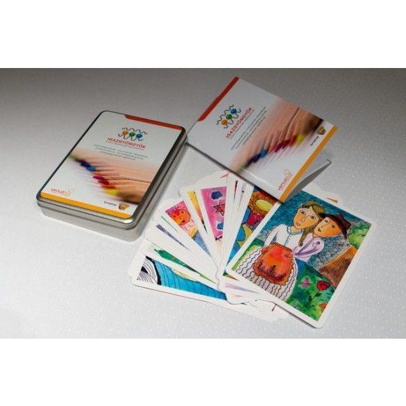Igazgyöngyök kreatív képkártyák fejlesztéshez
