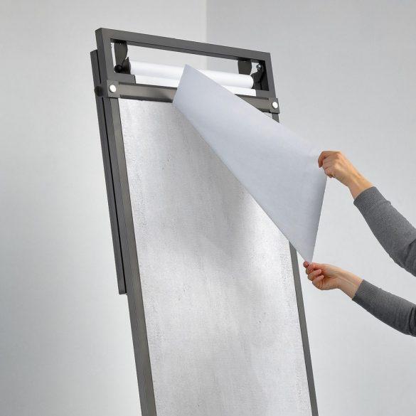 Mágneses papírtépő sín INFINITABLE® kétfunkciós mobil bútorhoz