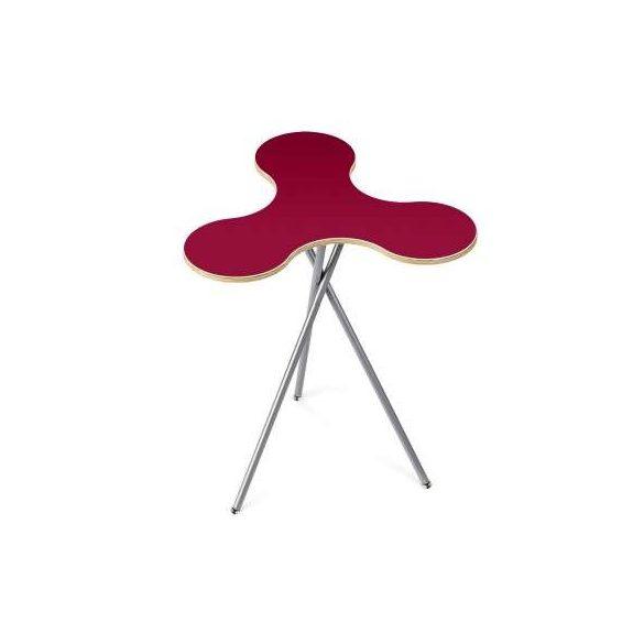 Trialog Table -  összecsukható asztal -  rubint vörös/U17008 VV  - red rubin