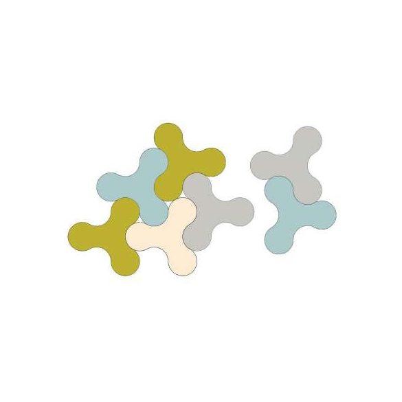 Trialog Table -  összecsukható asztal -  kék/U18016 VV  - kavala
