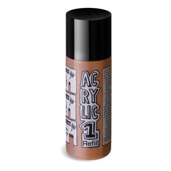 AcrylicOne utántöltő,  AC 546 barna