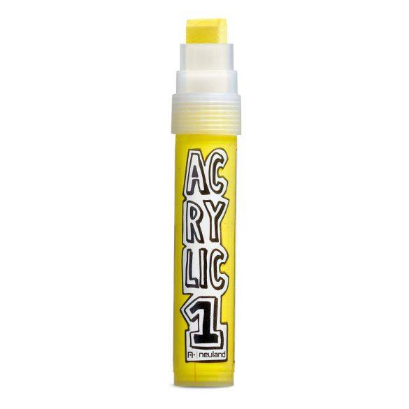 AcrylicOne, 8-15 mm vastaghegyű, AC 506 sárga