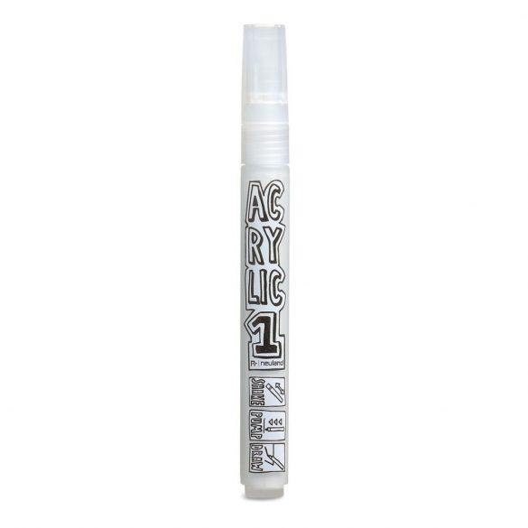 AcrylicOne közepes, 2.5 mm kerek hegyű, AC 501 fehér
