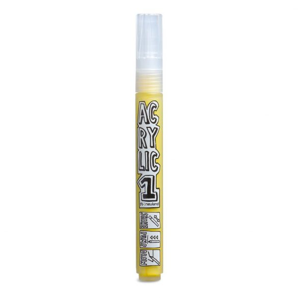 AcrylicOne közepes, 2.5 mm kerek hegyű, AC 506 sárga