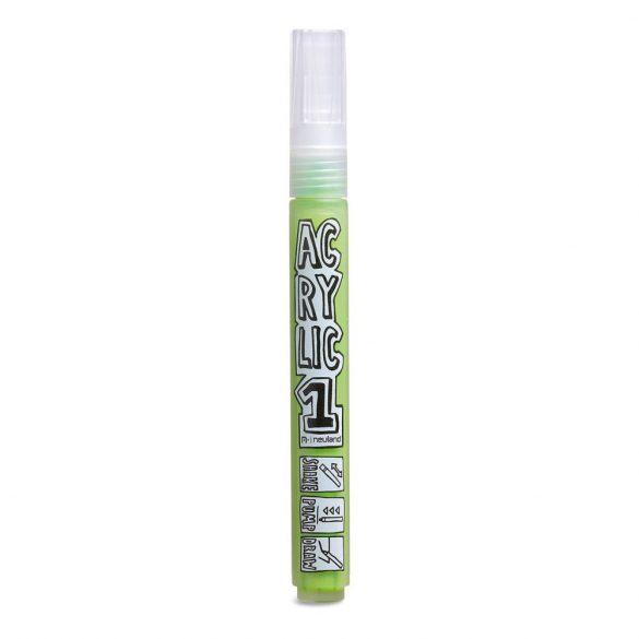 AcrylicOne közepes, 2.5 mm kerek hegyű, AC 536 világos zöld