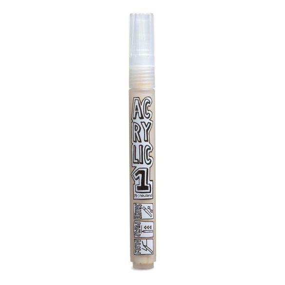AcrylicOne közepes, 2.5 mm kerek hegyű, AC 542 beige