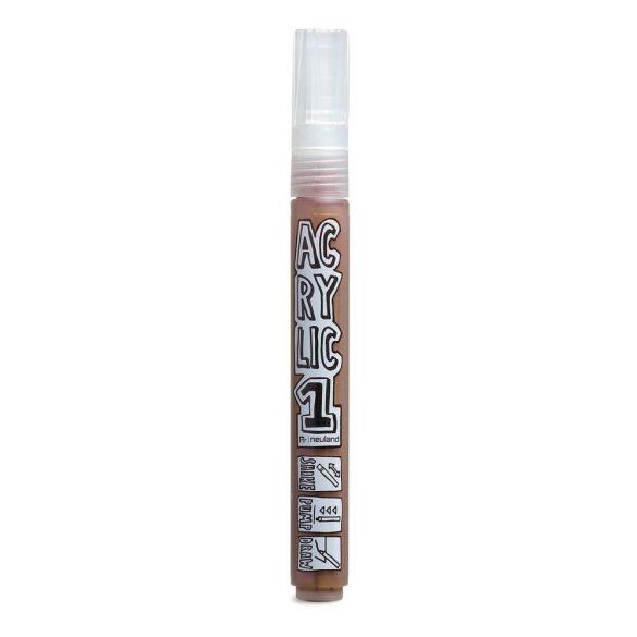 AcrylicOne közepes, 2.5 mm kerek hegyű, AC 546 barna