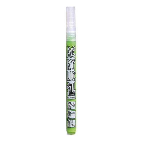 AcrylicOne vékonyhegyű, 1,5 mm kerek hegyű, AC 536 világoszöld
