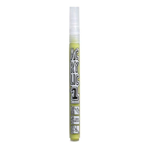 AcrylicOne vékonyhegyű, 1,5 mm kerek hegyű, AC 540 világos olíva