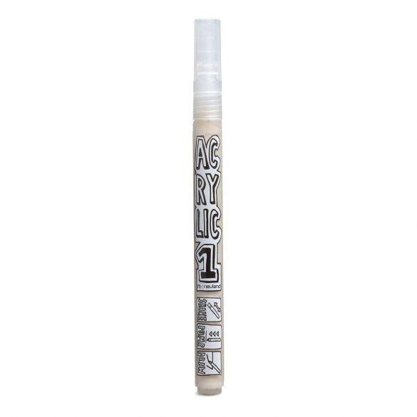 AcrylicOne vékonyhegyű, 1,5 mm kerek hegyű, AC 542 beige