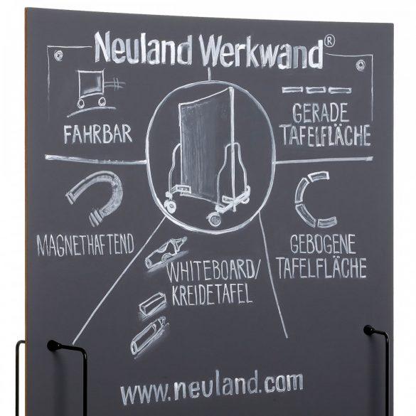 Neuland ChalkOne®, 2-8 mm vágott hegy, ezüst színű