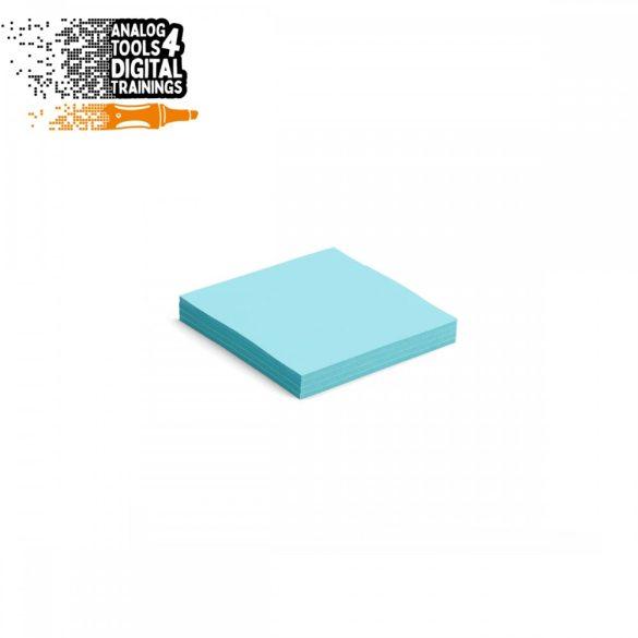 InstaCards moderációs kártya, Stick-It,  100 darabos, kék