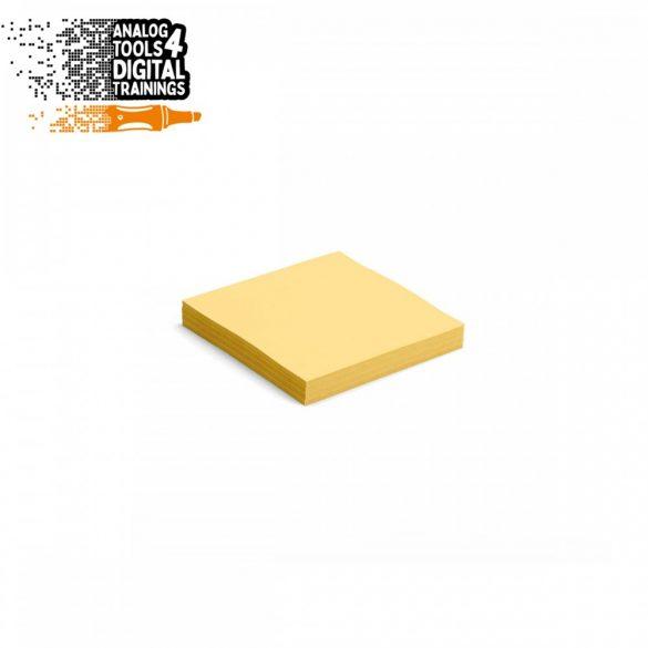 InstaCards moderációs kártya, Stick-It,  100 darabos, sárga