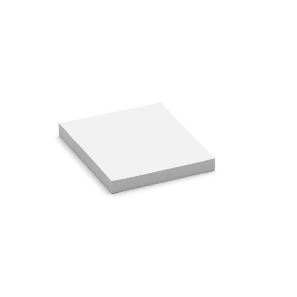 Stick-It Square X-tra Cards öntapadós kártya fehér