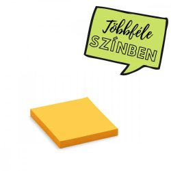 100 Square Stick-It X-tra Cards, yellow