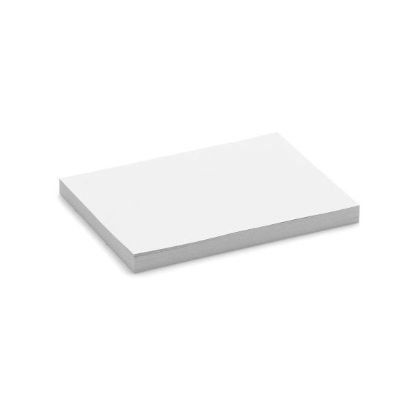 100 Small Rectangular Stick-It X-tra Cards, white
