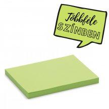Stick-It kis téglalap X-tra Cards öntapadós kártya zöld