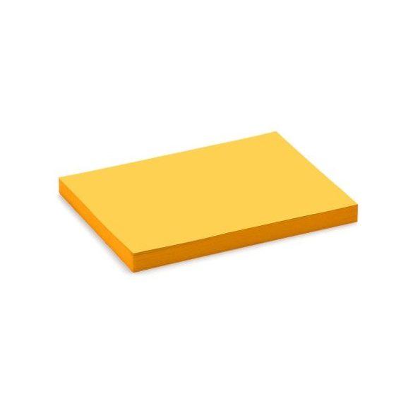 Stick-It kis téglalap X-tra Cards öntapadós kártya sárga
