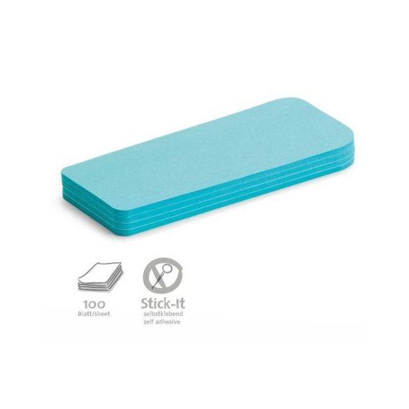 Stick-It Statement Öntapadós moderációs kártya állítás 100 db kék