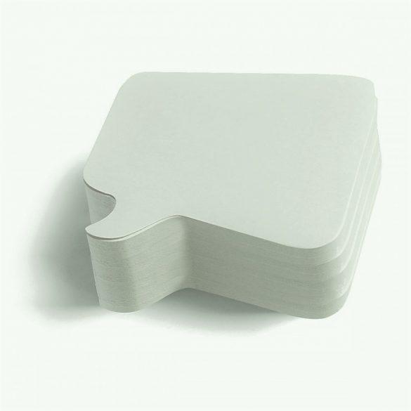 250 Pin-it Beszédbuborék: fehér