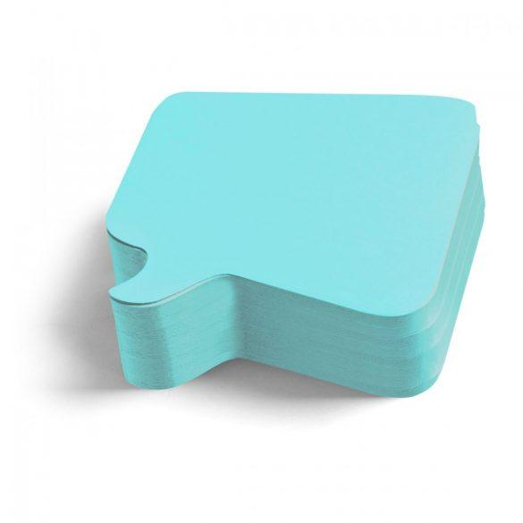 250 Pin-it Beszédbuborék: kék