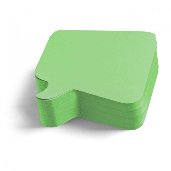 250 Pin-it Beszédbuborék: zöld