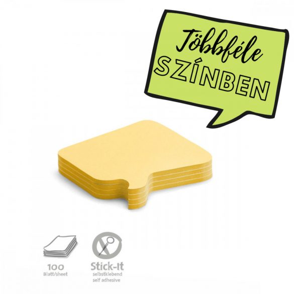 250 Pin-it Beszédbuborék: sárga