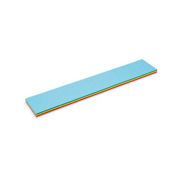 Feliratcsík Pin-It  moderációs kártya 120 db vegyes