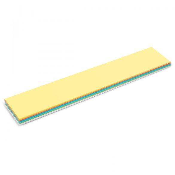 Feliratcsík Stick-it moderációs kártya 150 db vegyes