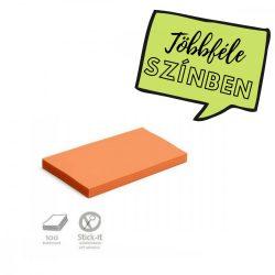 100 Large Rectangular Stick-It Cards, orange
