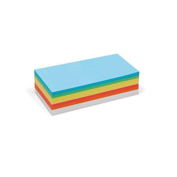 Téglalap Pin-It vegyes színű moderációs kártya 250 db