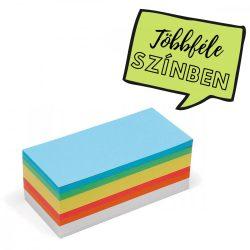 Téglalap  Pin-It 9,5x20,5 cm moderációs kártya vegyes 500 db
