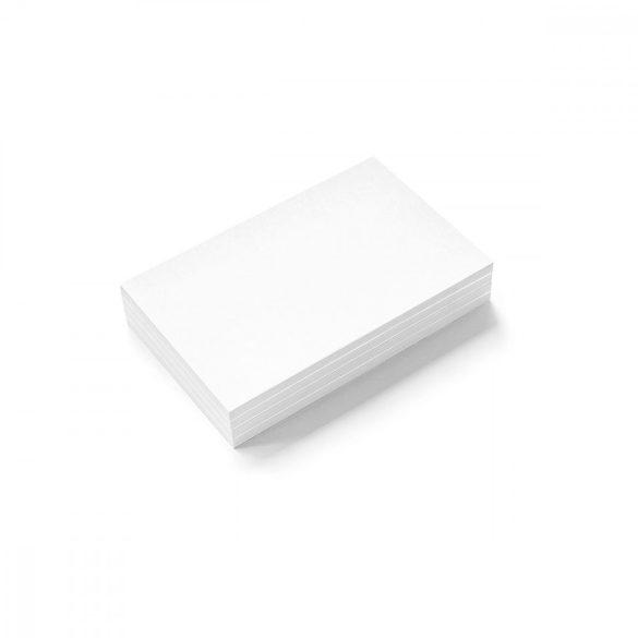 Stick-It Mini Téglalap öntapadós moderációs kártya 100 db fehér