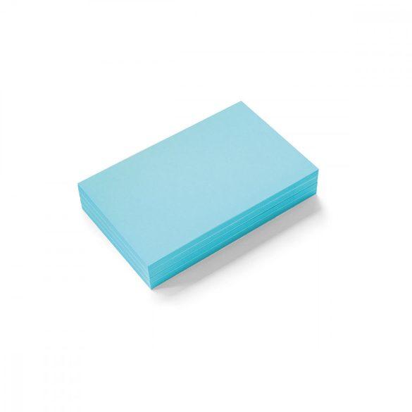 Stick-It Mini Téglalap öntapadós moderációs kártya 100 db kék