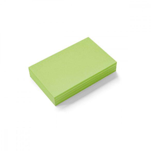 Stick-It Mini Téglalap öntapadós moderációs kártya 100 db zöld