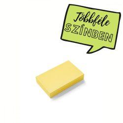 Stick-It Mini Téglalap öntapadós moderációs kártya 100 db sárga