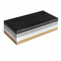 Stick-It Téglalap öntapadós 9,5x20,5 cm moderációs kártya 300 db vegyes színű