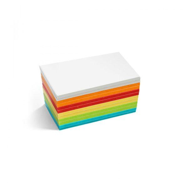 Stick-It Mini Téglalap öntapadós moderációs kártya 150 db vegyes