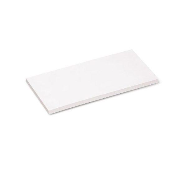 Stick-It X-tra Téglalap 9,5x20,5 cm öntapadós moderációs kártya 100 db fehér