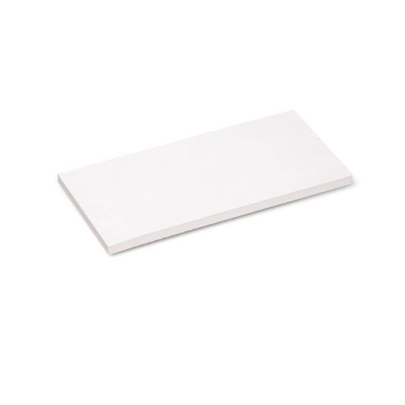 100 Rectangular Stick-It X-tra Cards, white