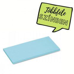 Stick-It X-tra Téglalap 9,5x20,5 cm öntapadós moderációs kártya 100 db kék