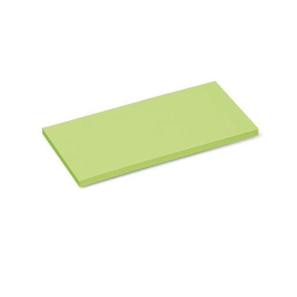 Stick-It X-tra Téglalap 9,5x20,5 cm öntapadós moderációs kártya 100 db zöld