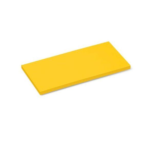 Stick-It X-tra Téglalap 9,5x20,5 cm öntapadós moderációs kártya 100 db sárga