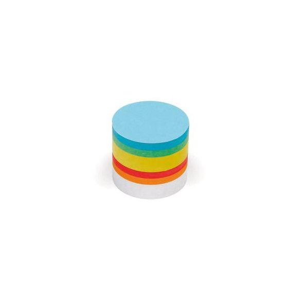 Kiskör Pin-It 9,5 cm moderációs kártya 500 db vegyes
