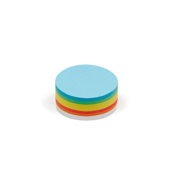 250 Medium Circular Pin-It Cards, assorted colours