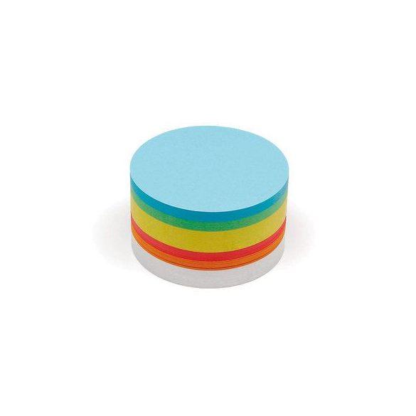 Közepes kör Pin-It 14 cm moderációs kártya 500 db vegyes