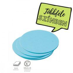 100 Medium Circular Stick-It Cards, blue