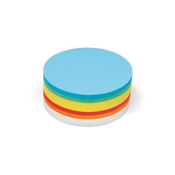 Nagy kör Pin-It 19,5 cm moderációs kártya 500 db vegyes