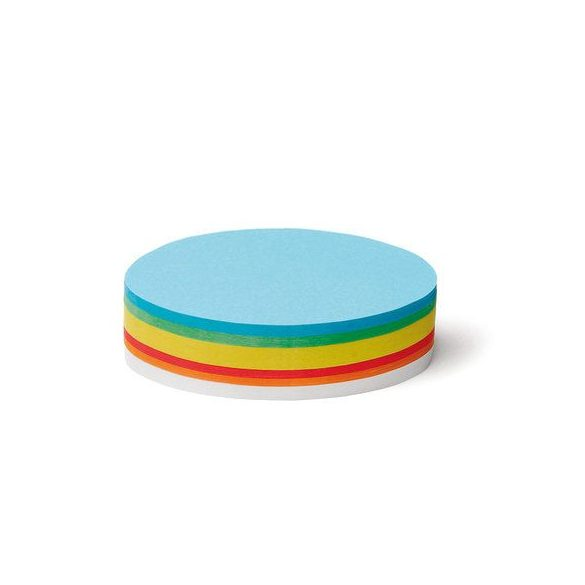 OválisPin-It  vegyes színű moderációs kártya 250 db