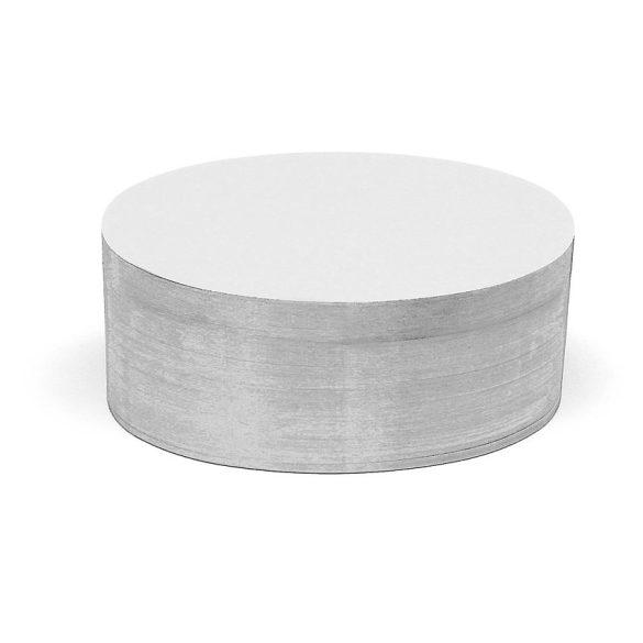 Ovális Pin-It 9,5x20,5 cm moderációs kártya 500 db fehér